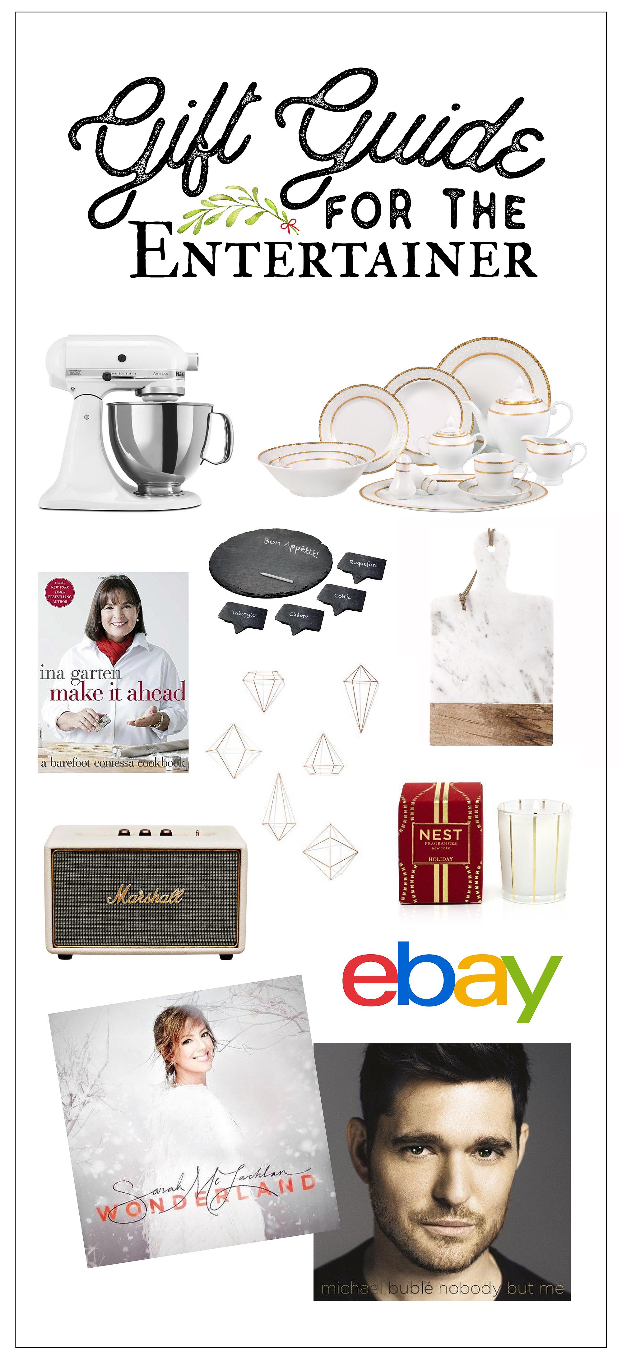Gift Giving for the Entertainer on eBay