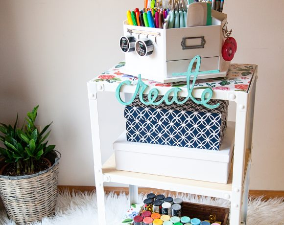 DIY Creative Station for the Family