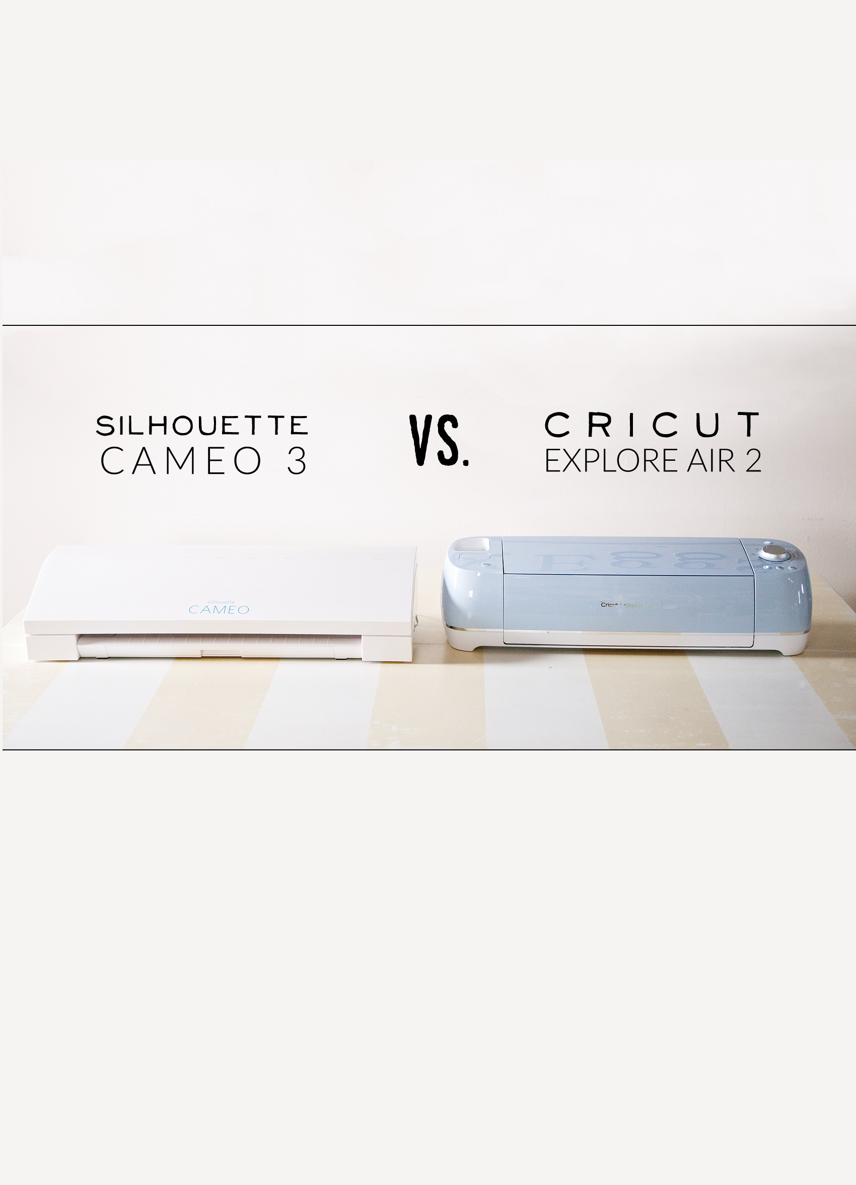 Cricut vs. Silhouette • Which Machine Will Reign Supreme?