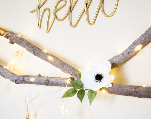 Lighted Floral Swag   Perfect to Add a Little Romance to Any Room