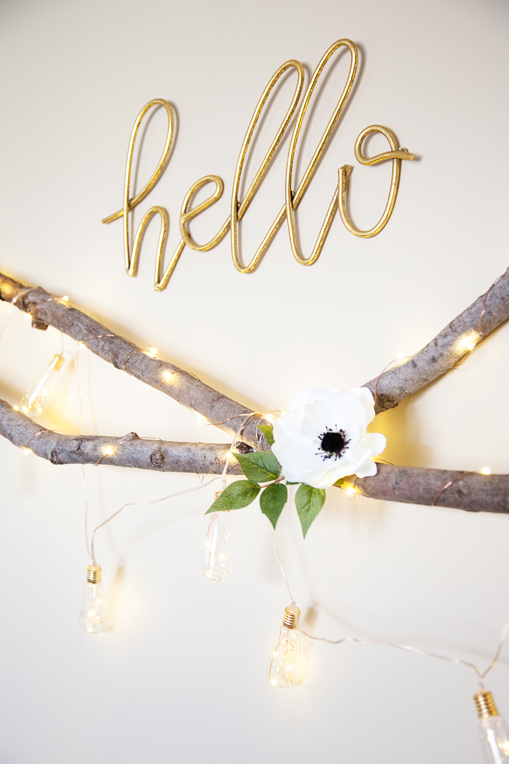 Lighted Floral Swag | Perfect to Add a Little Romance to Any Room