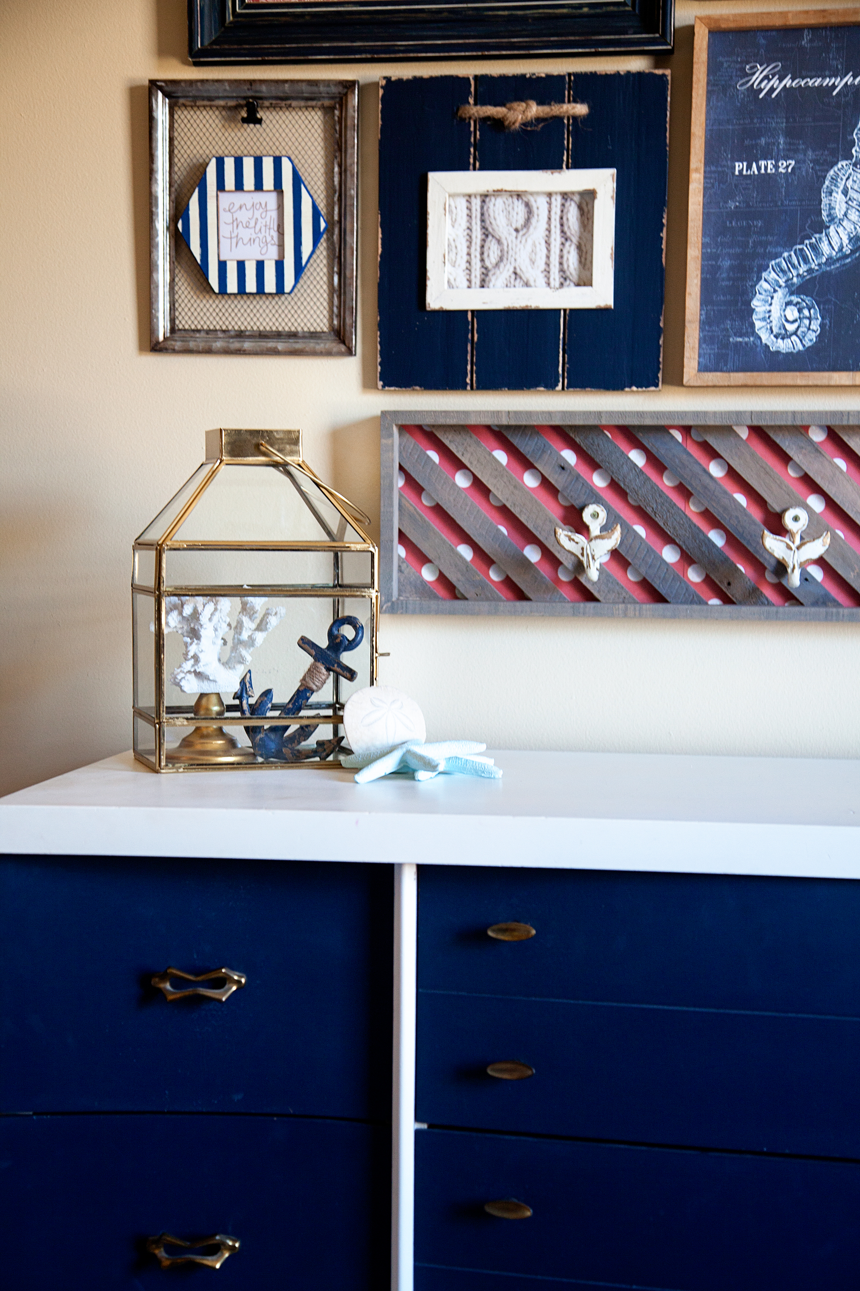 Colorful Nautical Gallery Wall Tips and Tricks