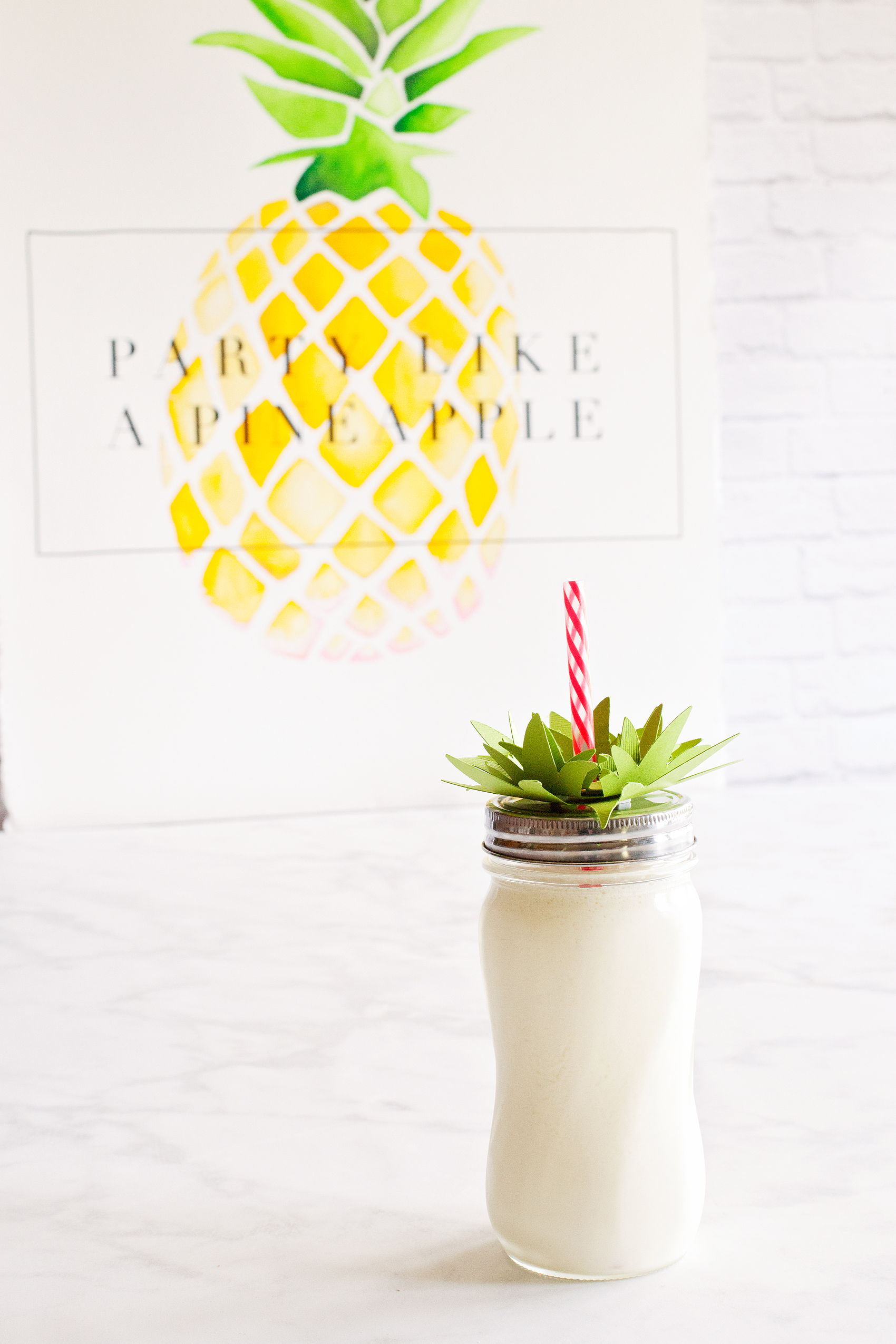 The cutest Dole Whip EVER! This Pineapple Party is perfect for all ages. Come on over to WhipperBerry to learn how to recreate this EASY party!