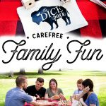 Come learn how to create carefree family fun with simple to make yard games via WhipperBerry.