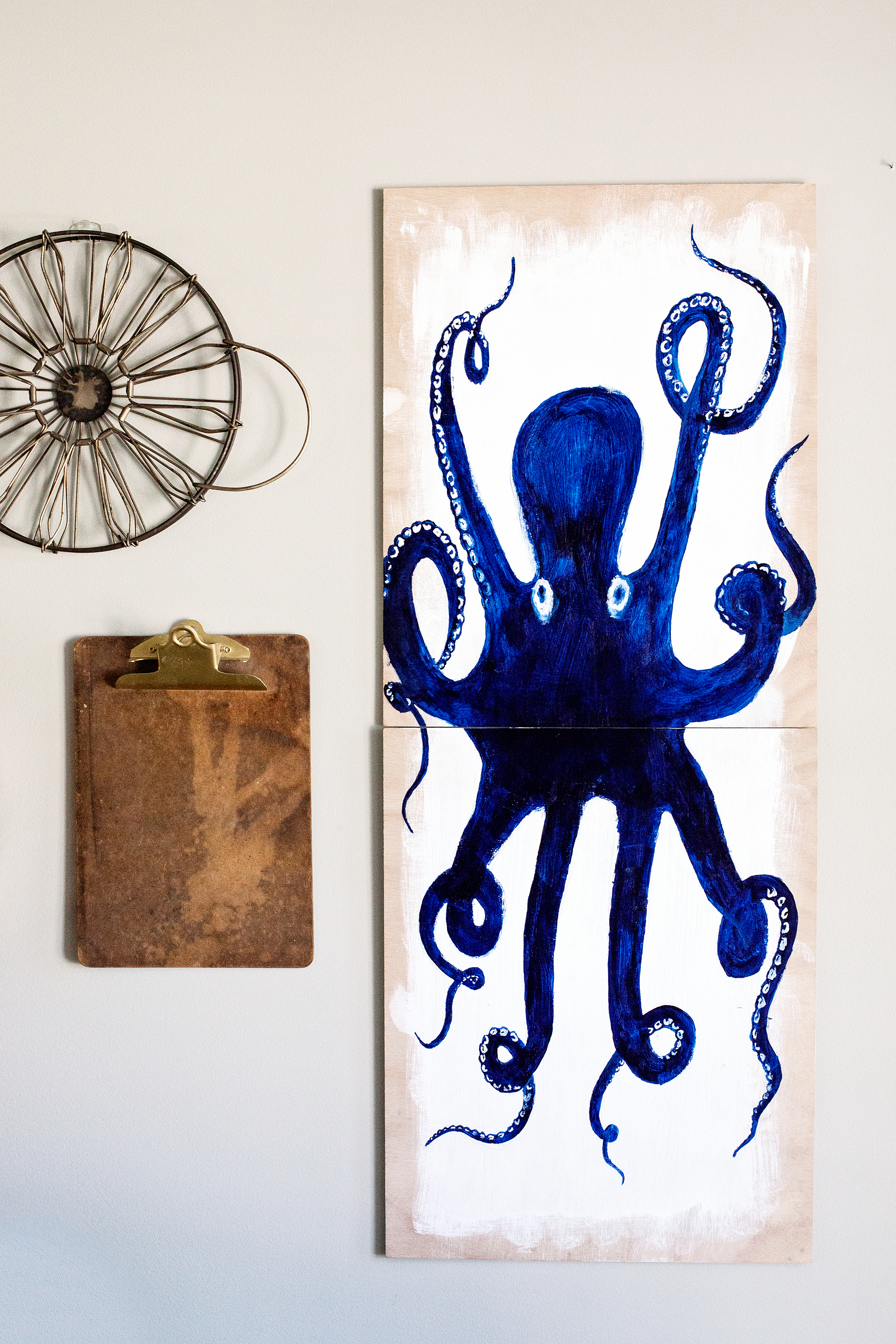 Bon Create This Fun DIY Octopus Wall Art For Your Favorite Nautical Themed  Room. This One