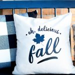 Oh, Delicious Fall accent pillow created by WhipperBerry