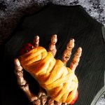Come learn how to make this classic Halloween meal... Mummy Hot Dogs with WhipperBerry.