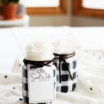 Come learn how to make the cutest buffalo check jars from WhipperBerry • Perfect for Holiday gift giving! Made with @ballcanning Sharing Jars®
