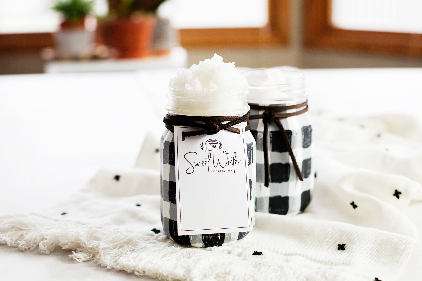 Sweet Winter Sugar Scrub from WhipperBerry