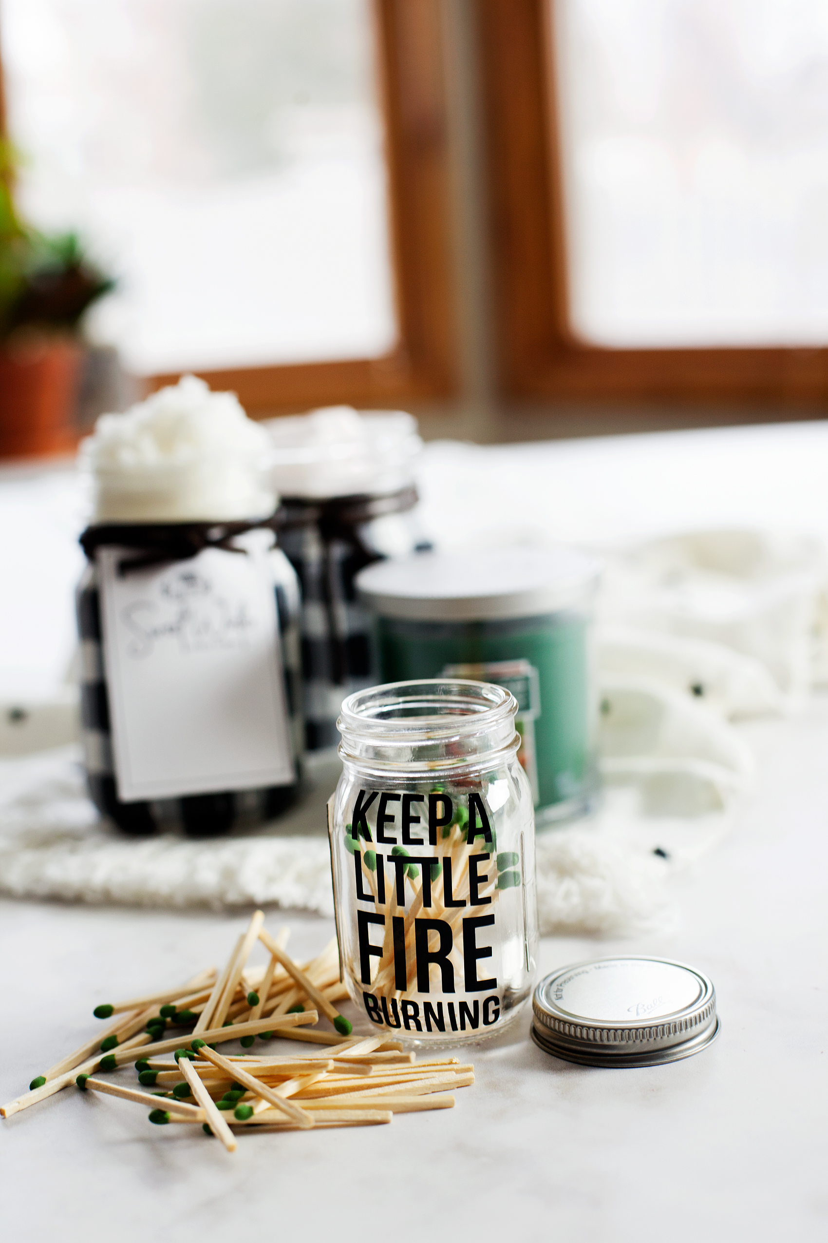 cute little Ball Match Jar from WhipperBerry