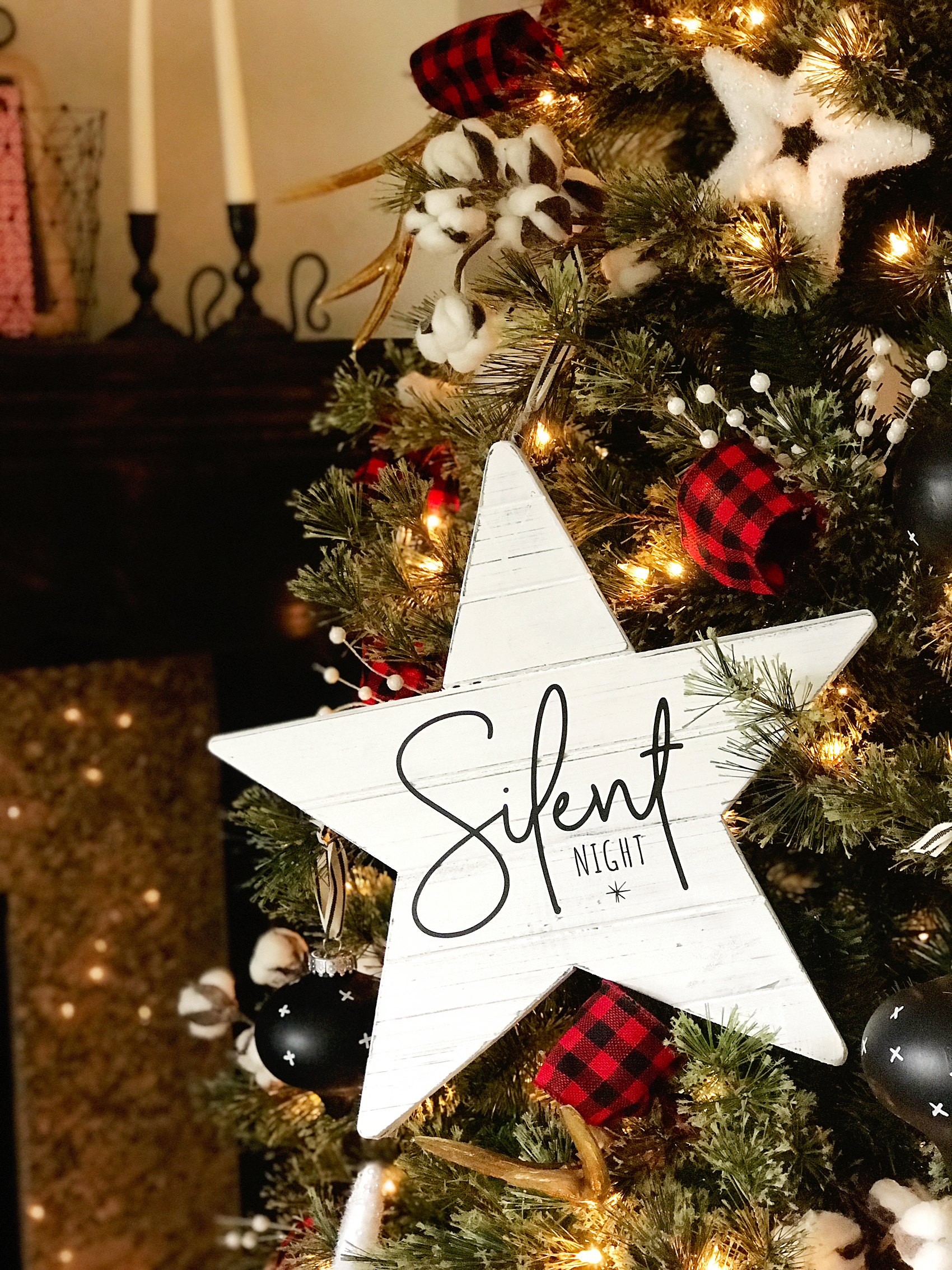 DIY Christmas Star from WhipperBerry