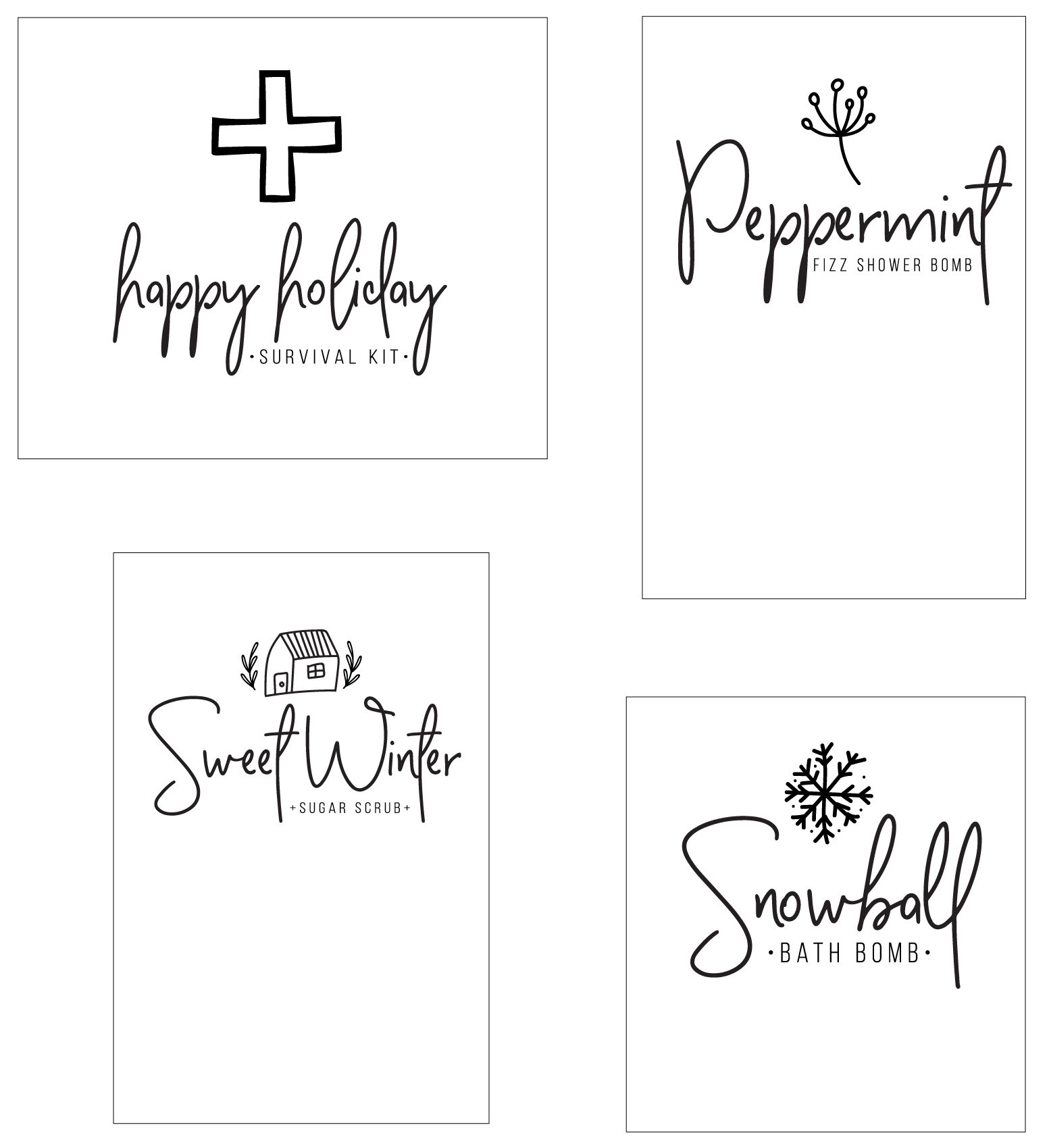 holiday survival kit printable from whipperberry-100