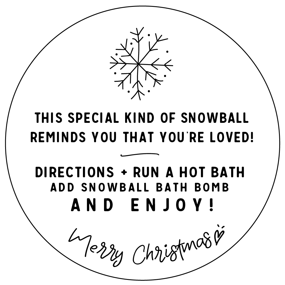 snowball bath bomb whipperberry free printable gift tag-100