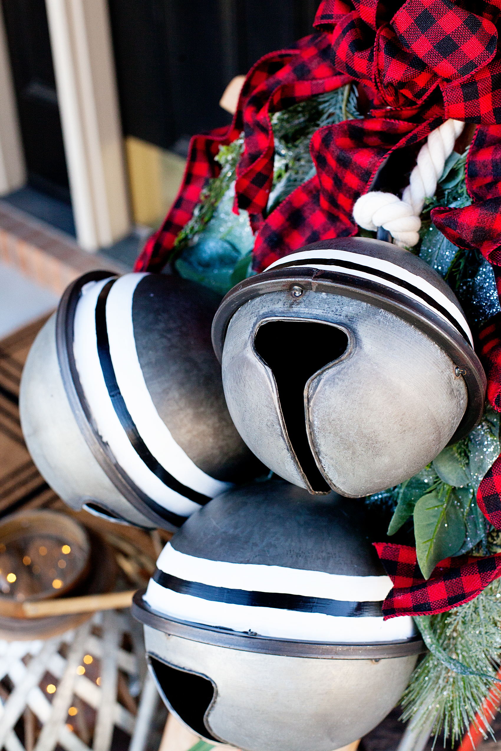 It's so easy to take a simple object and give it a little extra class. I used some Americana Decor Satin Enamels and added my own special touch to these fun bells. Come see how I transformed them just a touch but added some real WOW factor.