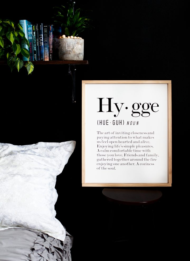 Canvas Hygge Sign with Cricut Iron-On Lite •Sign Making 101