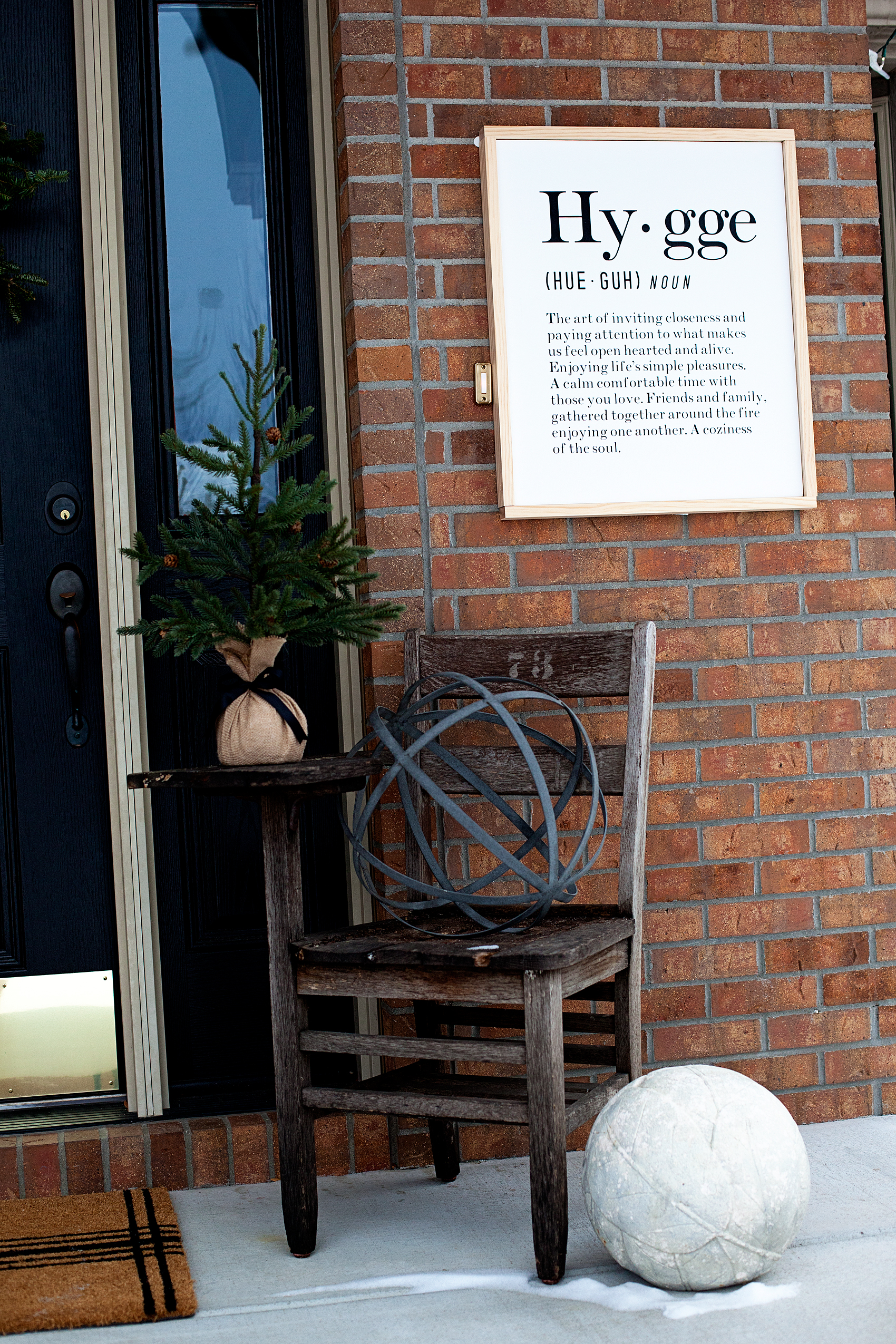 Hygge Canvas Sign • Sign Making 101 • WhipperBerry