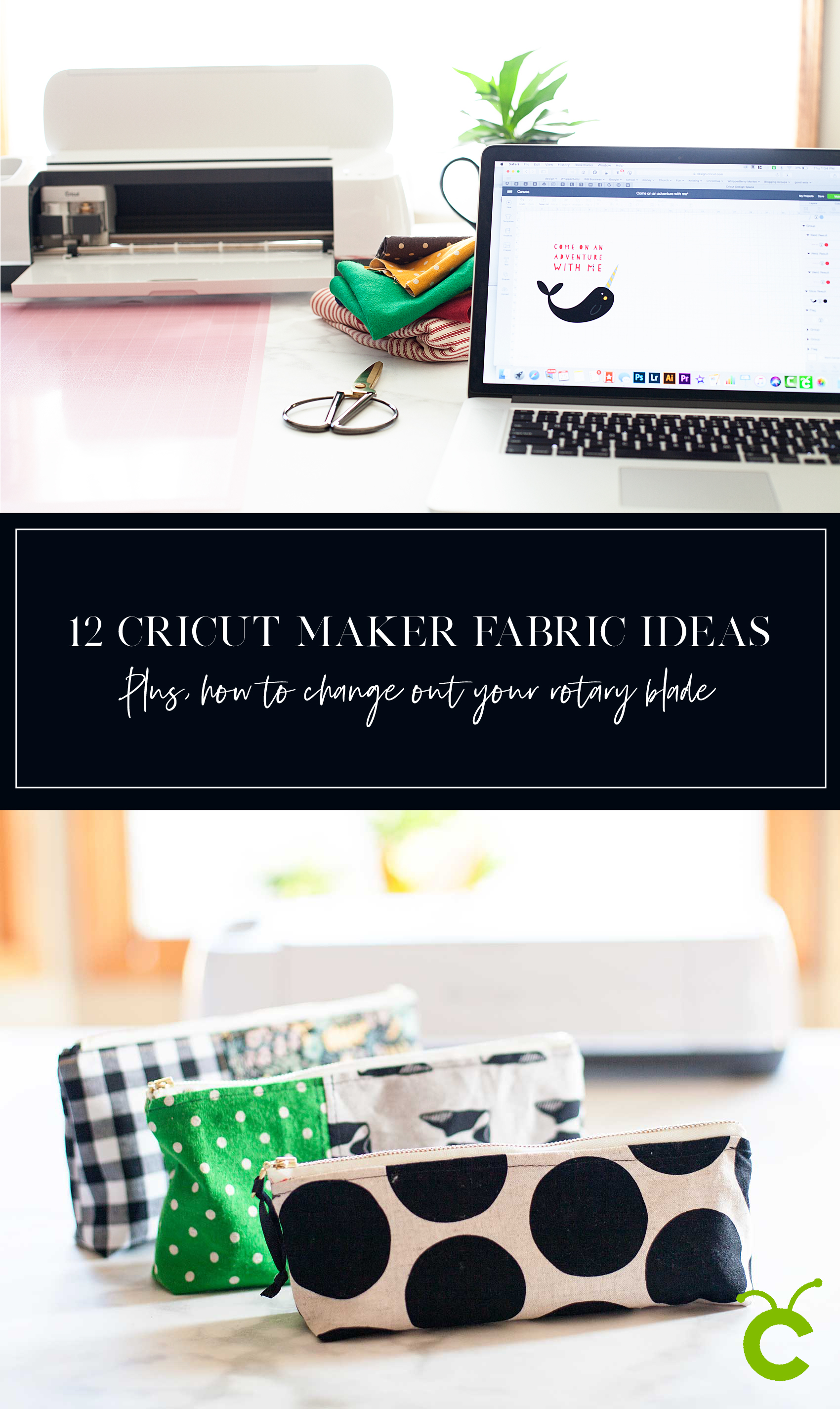 12 Cricut Maker Fabric Projects PLUS + For every Cricut Maker user, there comes a time when you will need to change out your rotary blade. This is something that is relatively new to the Cricut world, and is super easy to do following the proper instructions.