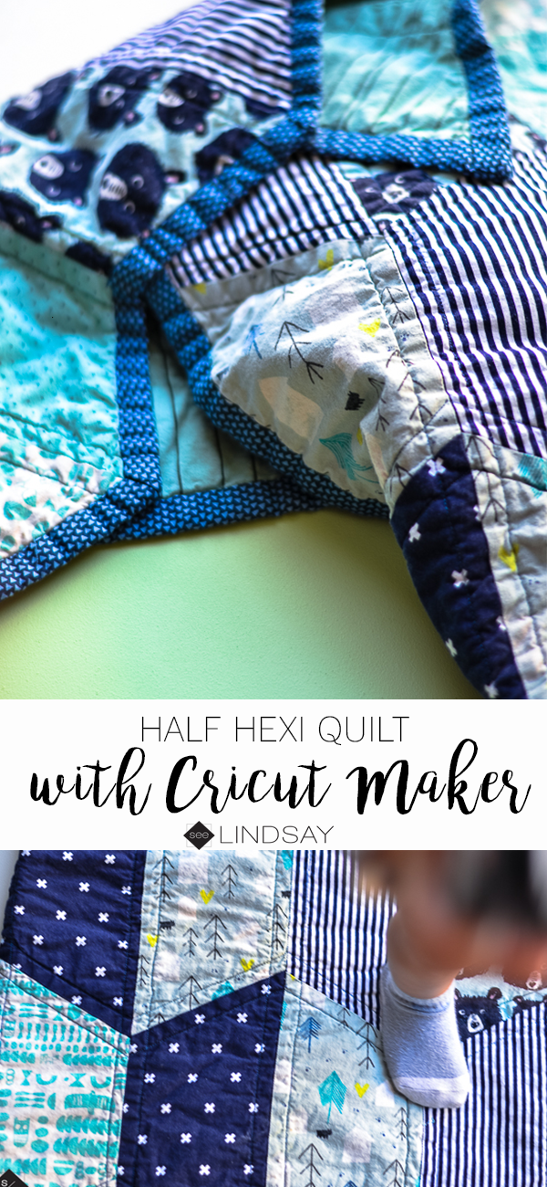 Baby Quilt with Cricut Maker • See Lindsay