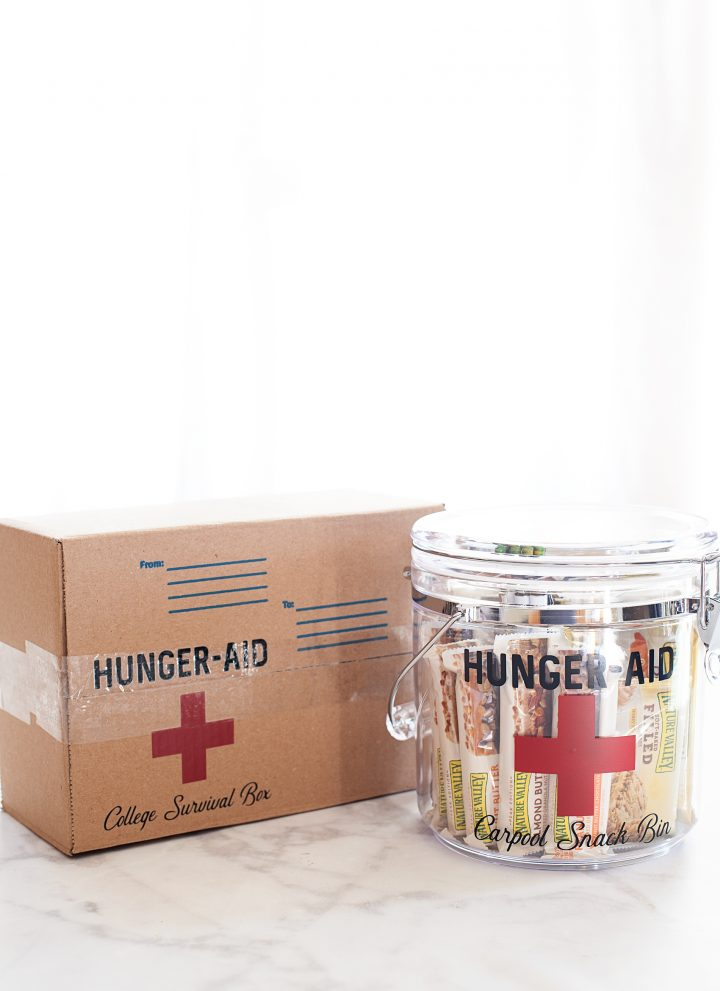 From Carpool to Care Packages • Hunger-Aid Survival Kits