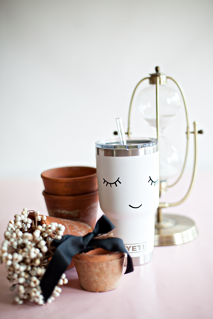 Are you a @Yeti lover like me? I love to personalize my Yeti Tumblers with my @cricut Maker and some simple Premium Outdoor Vinyl. It works in the dishwasher just great and is my favorite way to Say hydrated this summer! -WhipperBerry