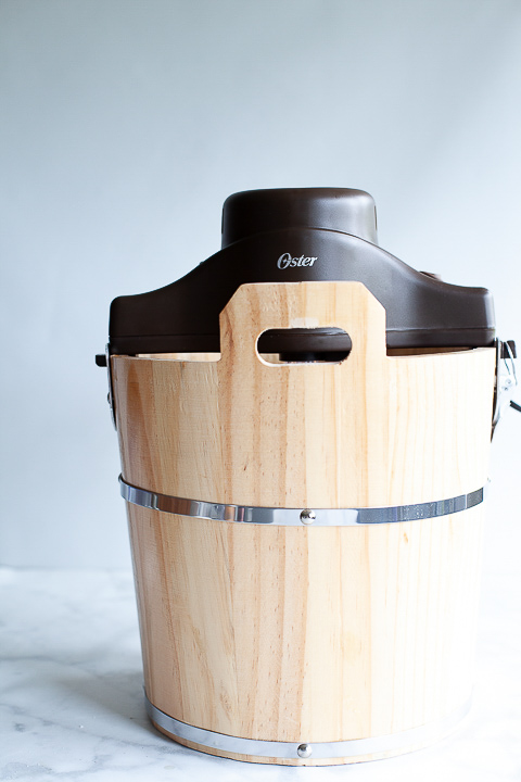 The classic wooden bucket ice cream maker with all the charm of yesterday but with the modern electric crank - whipperberry