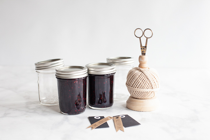 Mixed Berry Jam Jar Labels - whipperberry