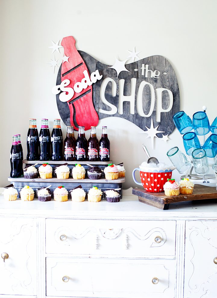 Soda Shop Wood Sign • The BEST 10 Tips for Working with the Cricut Knife Blade
