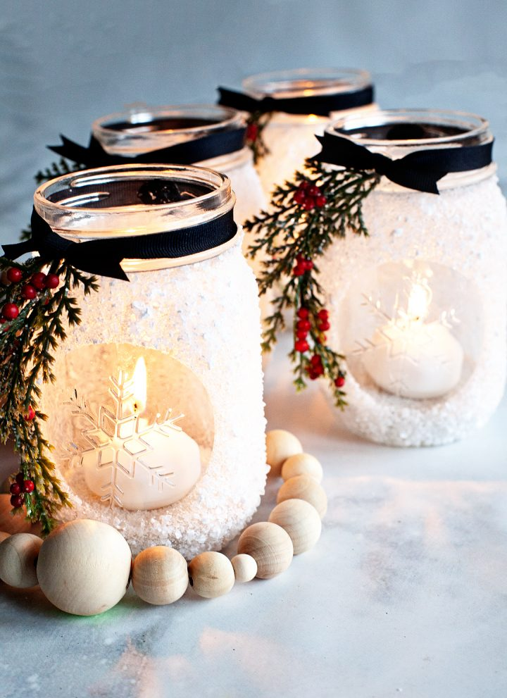 Snowflake Lantern Holiday Gift Idea
