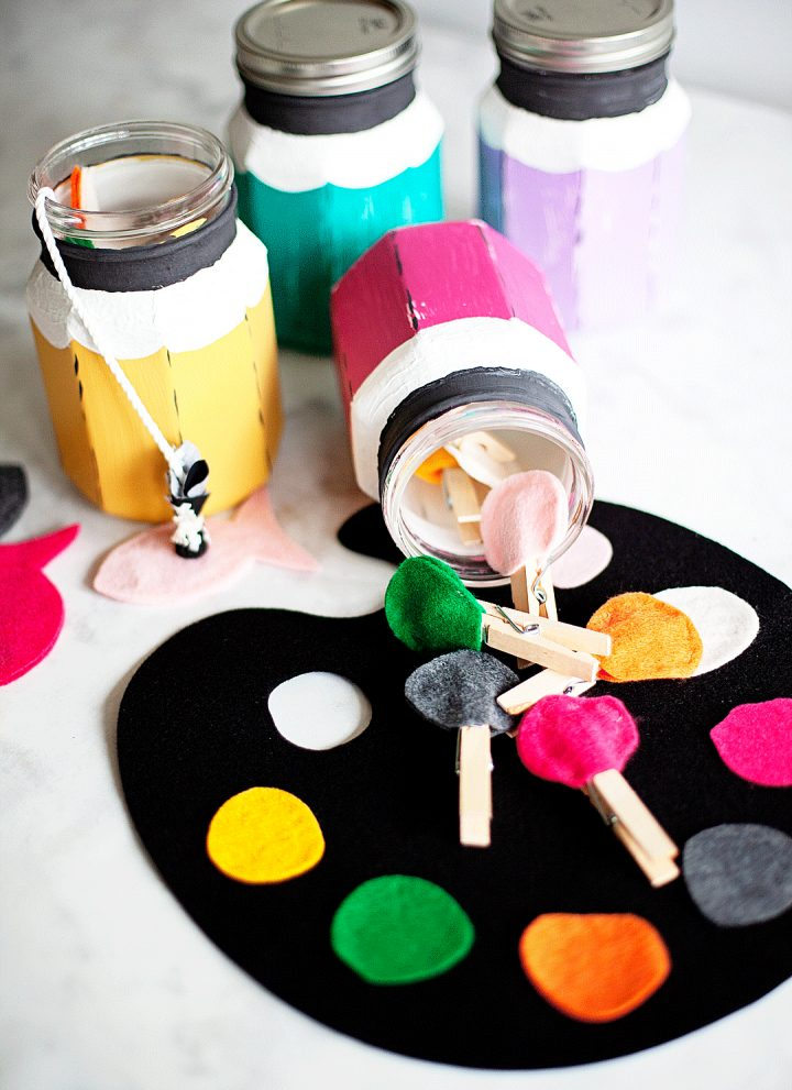 Toddler Activity Pencil Jars